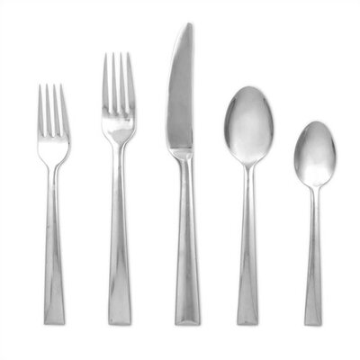 Lenox Continental Dining 5 Piece Flatware Set