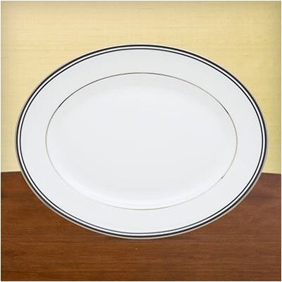 "Lenox Federal Platinum 13"" Oval Platter"