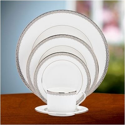 Lenox Lace Couture 5 Piece Place Setting