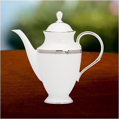 Lenox Lace Couture Coffeepot