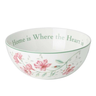 "Lenox Butterfly Meadow 7.25"" Sentiment Bowl"