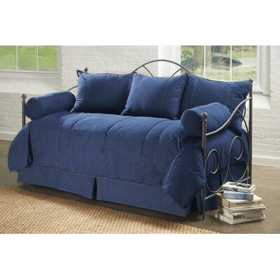 American Denim Daybed Ensemble 5 Piece Comforter Set