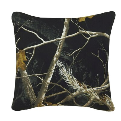 Realtree Bedding Camo Square Pillow