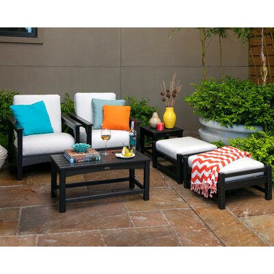 POLYWOOD® Club 6 Piece Deep Seating Group