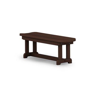 POLYWOOD® Park Wood Picnic Bench