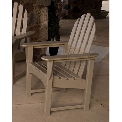 POLYWOOD® Adirondack Dining Arm Chair