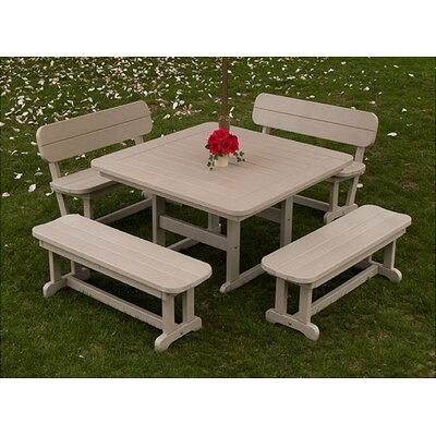 POLYWOOD® Park 3 Piece Dining Set