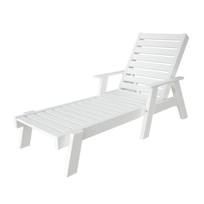 POLYWOOD® Captain Chaise Lounge with Arms