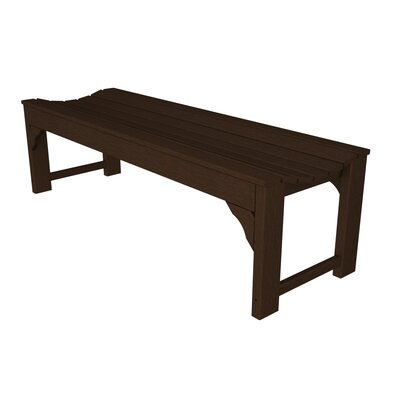 POLYWOOD® Traditional Plastic Picnic Bench