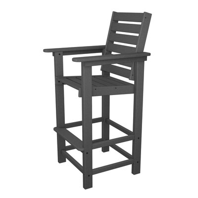 POLYWOOD® Captain Bar Chair