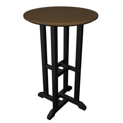 POLYWOOD® Contempo Round Counter Bar Table