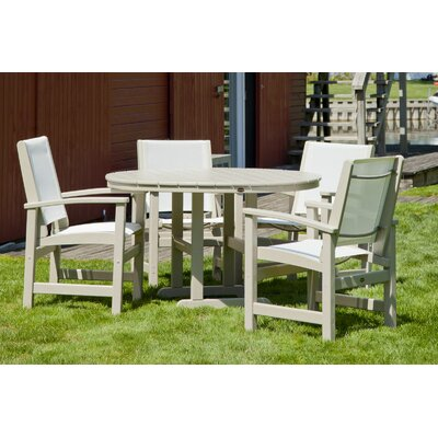 POLYWOOD® Coastal 5 Piece Dining Set