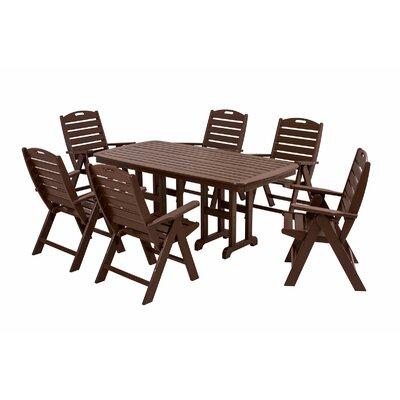 POLYWOOD® Nautical 7 Piece Dining Set