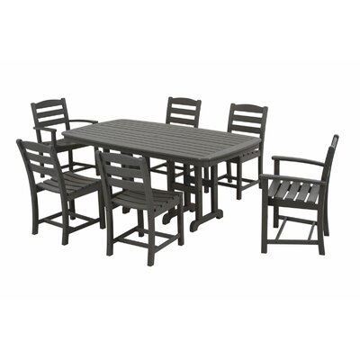 POLYWOOD® La Casa Cafe 7 Piece Dining Set