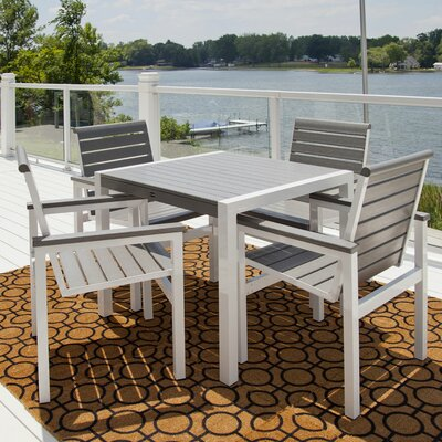 POLYWOOD® Mod 5 Piece Dining Set