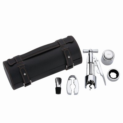 Gorham That's Entertainment 5 Piece Ratchet Set Leather Tube