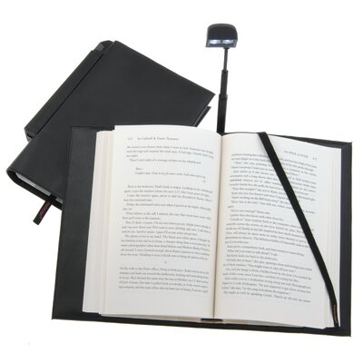 Periscope® Hardcover Book Light in a Book Cover
