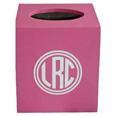 When I Was Your Age Monogram Tissue Box