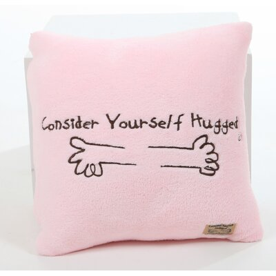 Consider Yourself Hugged Marshmallow Plush Cuddle Pillow