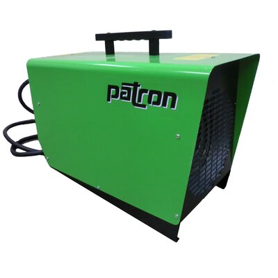 Patron E-Series 6,000 Watt Fan Forced Compact Electric Space Heater