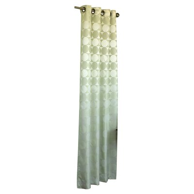 Commonwealth Home Fashions Hologram Grommet Curtain Single Panel