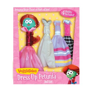 VeggieTales Dress Up Petunia Doll Set