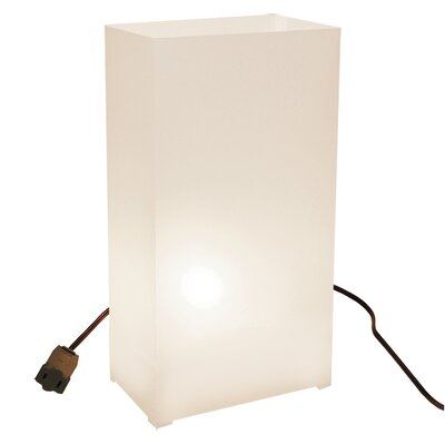 Luminarias 10 Count Electric Luminary Kit in Traditional White