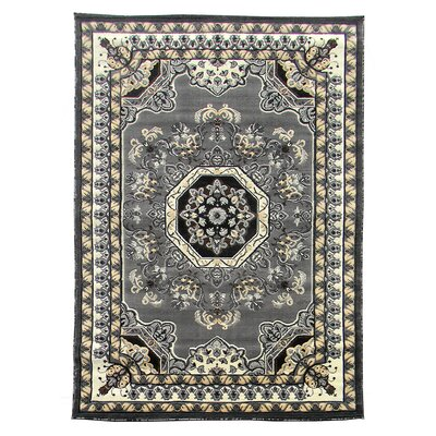 Kingdom Grey Traditional Rug
