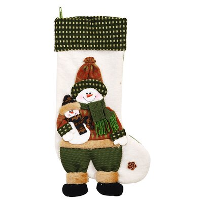 DonnieAnn Company Snowman Stocking
