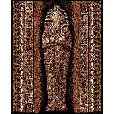 DonnieAnn Company African Adventure Pharaoh Novelty Rug