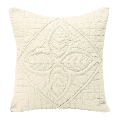 Ultra Spa Cotton Amish Fern Quilted Decorative Pillow