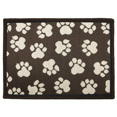Park B Smith Ltd PB Paws & Co. Woodland / Ivory World Paws Tapestry Rug