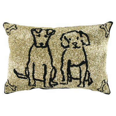 <strong>Park B Smith Ltd</strong> PB Paws & Co. Cotton Dog Friends Decorative Pillows