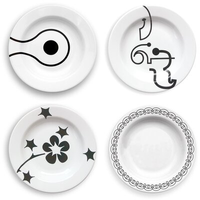 notNeutral In-The-Mix 20 Piece Dinnerware Set
