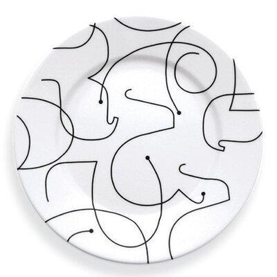 """notNeutral Letters 11"""" Dinner Plate"""