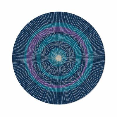 Eccentric Blue Area Rug