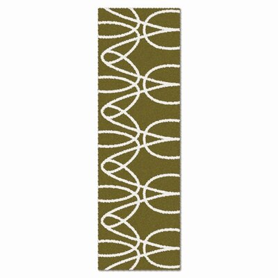 notNeutral Just for Kids White/Sable Ribbon Kids Rug