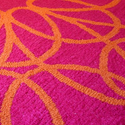 notNeutral Ribbon Orange/Pink Rug