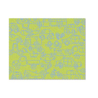 notNeutral Just for Kids Lotus Green/Ozone Blue Transport Kids Rug