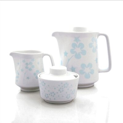 notNeutral Blue Flora Coffee Serving Set