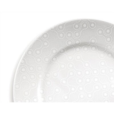 notNeutral White on White Links Dinner Plate Set