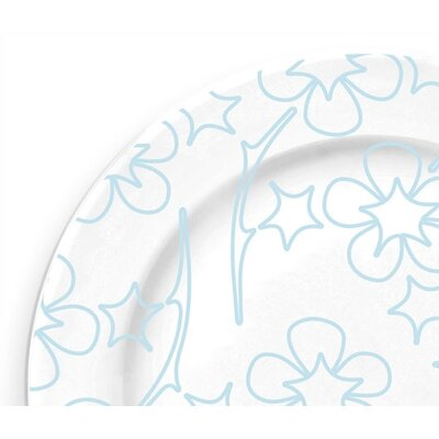 notNeutral Blue Flora Serving Plate
