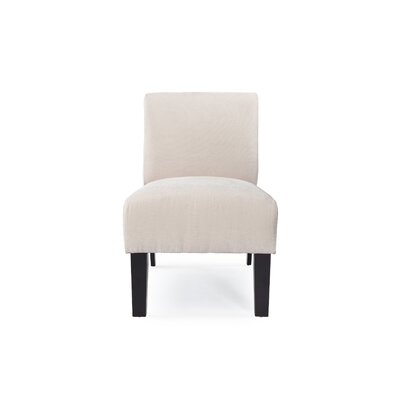 DHI Deco Solid Fabric Slipper Chair