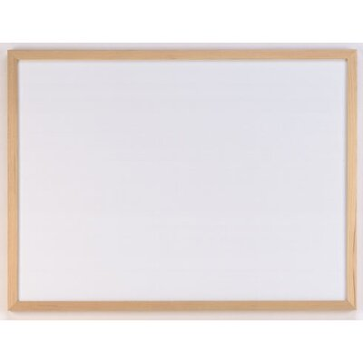 AccoBrands Wood Frame Dry Erase 1.39' x 1.88' Bulletin Board