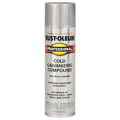 Rust-Oleum Professional 15 Oz Gray Cold Galvanizing Compound Spray Paint