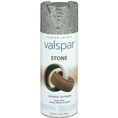 Valspar Gotham Gray Stone Spray Paint