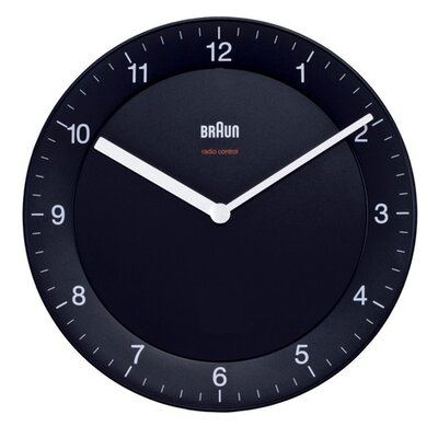 "Braun 7.9"" Wall Clock"
