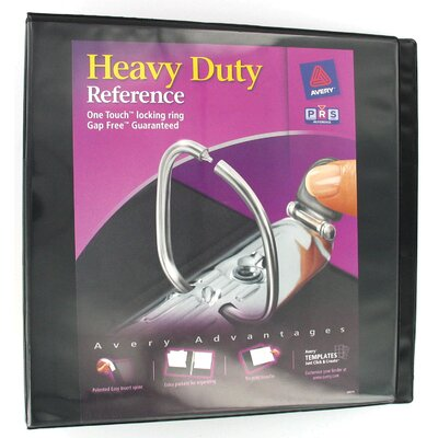 "Avery 2"" EZ View Heavy Duty Reference Binder in Black"