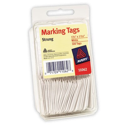 Avery 100 Marking Tag in White