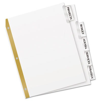 Avery Worksaver Big Tab Paper Dividers